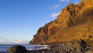Playa de Ingles La Gomera.